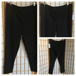 NWT Two by VinceCamuto Black Essential Leggings XL